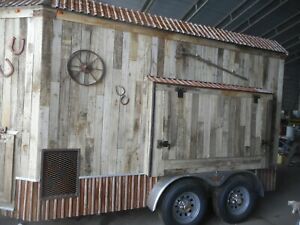 Refrigerated Trailer Barnwood Beer Draft Cold Service Add Some Character Unique