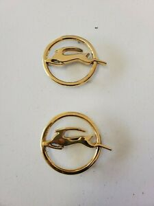 1963 Impala 24kt Gold Rear Quarter Panel Emblem