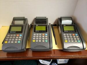 Lipman Nurit 3010 Wireless Portable Credit Card Terminal Machine Lot Of 3