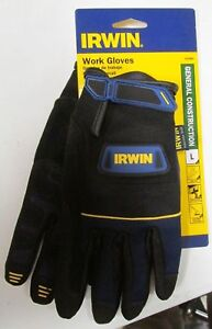 New Irwin 432005 Gloves General Construction Large New
