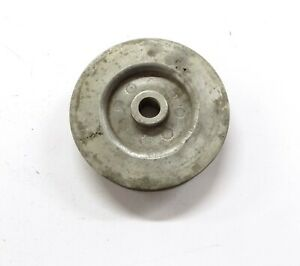 Vintage S c o t Scot Supercharger 1 Groove Pulley 4 1 4 Od 1 2 Bore
