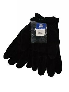 Wells Lamont Xl Black Leather Gloves 5977 New