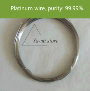 Pure Pt Wire Platinum Wire Electrode Electrophoresis Cell Electrode 30pc