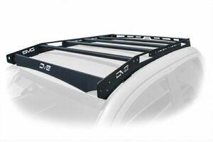 Dv8 Offroad Roof Rack Fits 45 4 X 10 Raw Light Bar For 16 20 Toyota Tacoma