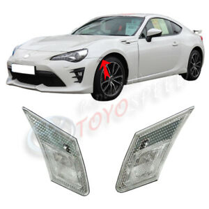 Lamp Fit For Toyota 86 2011 2014 Scion Frs 03 17 Subaru Brz Side Clear Set Light