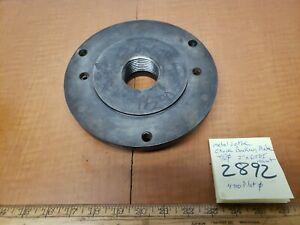 Metal Lathe Backing Plate 7 50od 2 x7tpi Mount