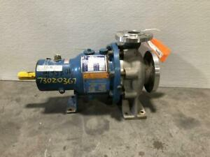Klaus Union 3 X 2 Stainless Steel Centrifugal Pump Slm n 50 160 130s1