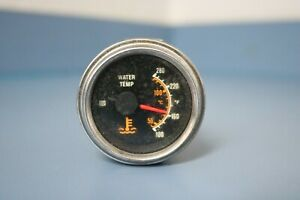 Sw Water Temperature Gauge Electrical 100 280f 2 1 16 Dual Scale