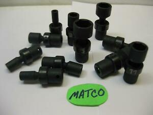 Matco Tools Metric Impact Swivel 6 Point Sockets Sold Each Nice