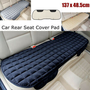 Car Rear Seat Cover Mat Pad Soft Comfortable Back Row Chair Cushion Protector