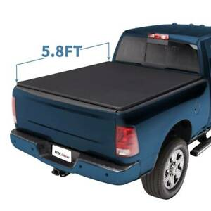 5 8ft Tri Fold Tonneau Bed Cover For 2009 18 Dodge Ram 1500 2019 Classic Only