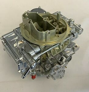Holley 600 Cfm Carburetor Hot Rod 80457 Chrome No Choke