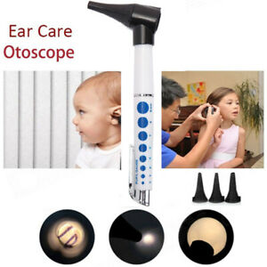 Medical Otoscope Flashlight Len Ophthalmoscope Penlight Ear Caremagnifying