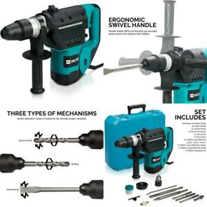 Demolition Hammer 1 1 2 In Sds Chisels Rotary Drill Jack Concrete Breaker Punch
