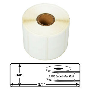 1500 Labels P r Jewelry Price Tag Labels Barbell 2 up For Dymo Labelwriter 30299