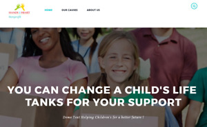 Crowdfunding Non profit Website Design Hosting Included