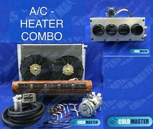 A C Kit Universal Under Dash Evaporator 228 Walnut Heater Combo Ne