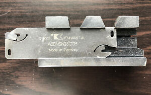 Kennametal A2bnsn Double End Neutral Indexable Cutoff Blade