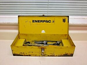 Enerpac Knockput Punch Die Set W Enerpac Ratcheting Tool Case Free Shipping