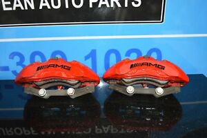 2014 Mb W212 W218 E63 Cls63 Amg Brembo Front Driver Passenger Brake Calipers