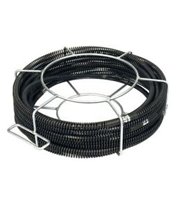 Tools 62270 C 8 Drain Cleaner Snake Cable 5 8 x 66 Fits Ridgid K 50 K 75