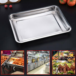 6 Pack Full Size 2 Deep Stainless Steel Steam Table Hotel Buffet Pans 8 5l