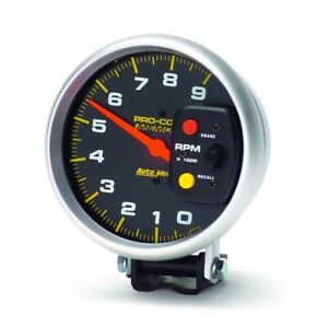 Autometer 6809 Pro comp Air core Pedestal Tachometer 9k Rpm 5