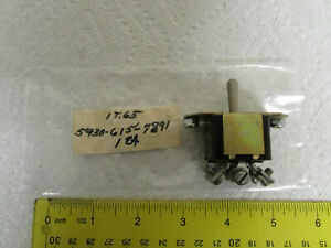 Micro Toggle Switch On off on Milspec Nsn 5930 615 7891 New