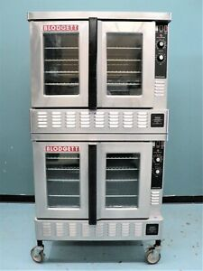Blodgett Double Deck Convection Oven Zephaire gl Gas Fired