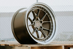 Aodhan Ds08 18x9 5 30 5x114 3 Bronze Rx7 Is300 Is250 Gs300 Rx8 Wrx Civic Lancer