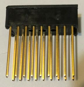 Lot 550 Each Ca Corp 18 Pin Wire Wrap Ic Socket Gold Plated 5 8 Pin Length