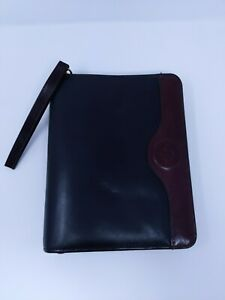 Franklin Covey Classic Two tone Full Grain Leather Calf Skin Binder Planner