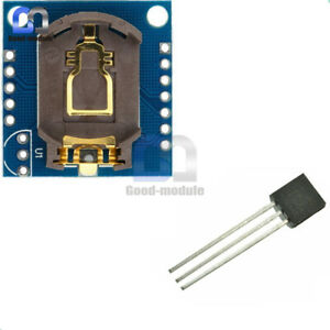 I2c Rtc Ds1307 Real Time Clock Module ds18b20 18b20 To 92 Temperature Sensor