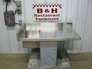 42 Heavy Duty Drop In Stainless Steel Cabinet Table One 1 Bowl Prep Hand Sink