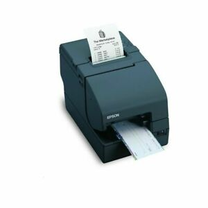 Epson Tm h2000 Thermal Receipt Printer With Micr And Endorser usb