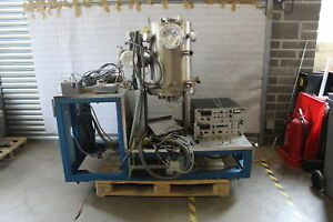Ultra High Vacuum System Stainless Steel 2 level Chamber Laboratory Lab Pump