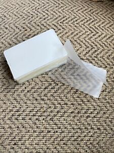 100 Business Card 10mil Laminating Pouches Laminator Sheets 2 1 4 X 3 3 4