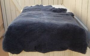 Sheepskin Pelt Merino Lambskin Light Blue 10 7 Sf High Quality
