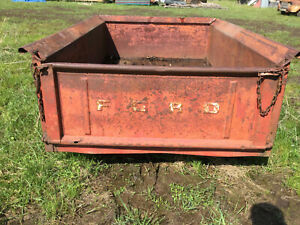 1953 54 55 1956 Ford Pickup Truck Short Bed Tailgate Original Patina Rat Rod Hot