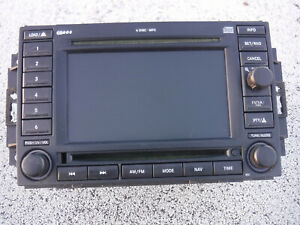 Dodge Chrysler Jeep Cd Dvd Gps Navigation Navi Stereo Radio Rec 05064184ad