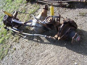 Ford Front Dana 60 Transfer Case And Adapter E350 Van Conversion