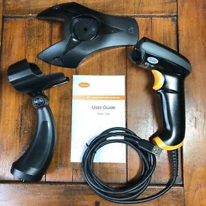 Teemi 2d Barcode Scanner With Stand Usb Wired Handheld T22n