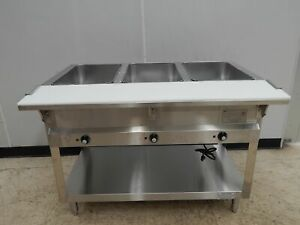 Bk 3 bay Electric Steam Table New out of box 115 Volt