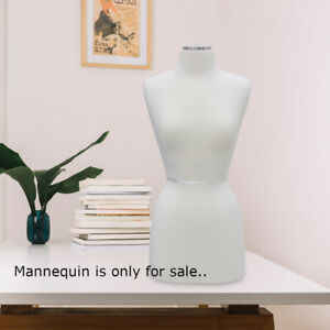 Tabletop Jersey Form Mannequin 12 W X 30 5 H Inches With Chrome Neck