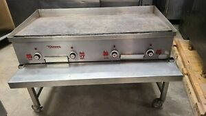 Vulcan 4fx34 x32 flat Grill With Stand 1250