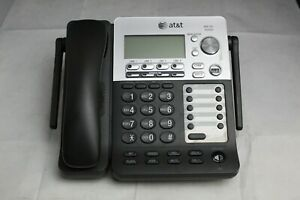 At t Synj Sb67138 4 Line Business Office Deskset Phone With Handset