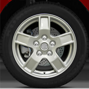17x7 5 Factory Wheel bright Fine Silver For 2005 2007 Jeep Grand Cherokee