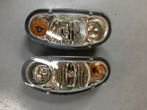 Boss Snow Plow Head Light Set Msc11120 And Msc11130 New Oem 2008