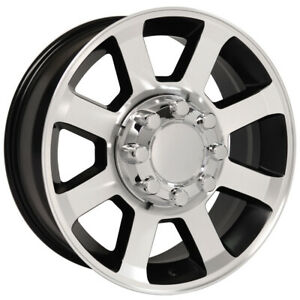 Machined Wheel 20x8 W machined Face For 1999 2016 Ford F 250 Owh3664