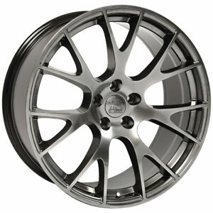 Hyper Wheel 22x9 Hellcat Style For 2006 2017 Dodge Charger